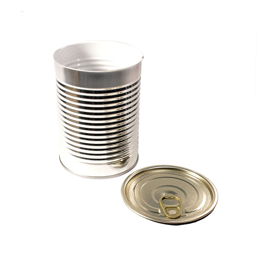 19oz 307x409 3pc Metal Can and EZO pull-tab Lid