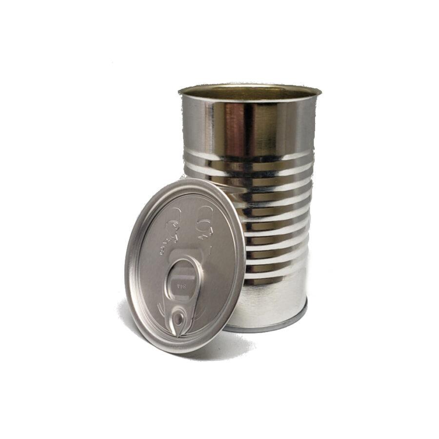 10oz 211x400 3pc Metal Can and Aluminum Ezo Lid