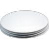 110mm White Metal 1Pc. Jar Lid