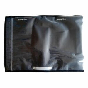 "Shield N Seal 15""x20"" Black/Clear w/zipper 50 bags"
