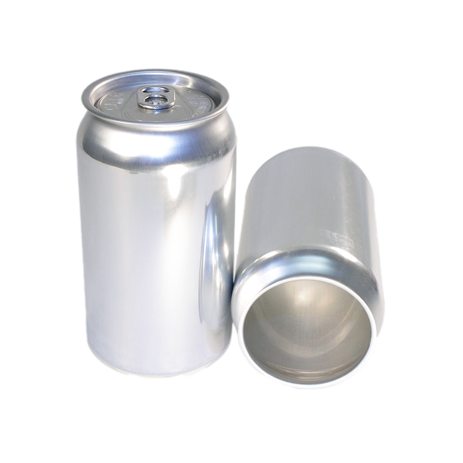 Pack of 55 - 355ml 12oz Aluminum Beer Cans & Lids