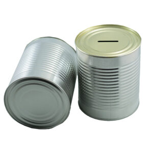 28 Oz Donation Tins