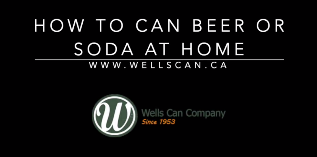 How to can beer and soda at home