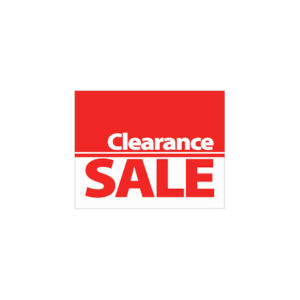 Clearout Sale - Up to 50% Off!