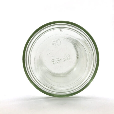 wellscan-6oz-clear-glass-straight side-jar-63-400-CT-continuous thread-bottom