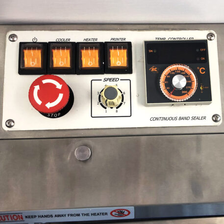wellscan-band-sealer-stainless steel-controls