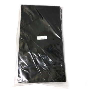 "wellscan-11.6""x22""-4mil-Black-Clear-Vacuum-bags-100 pack"