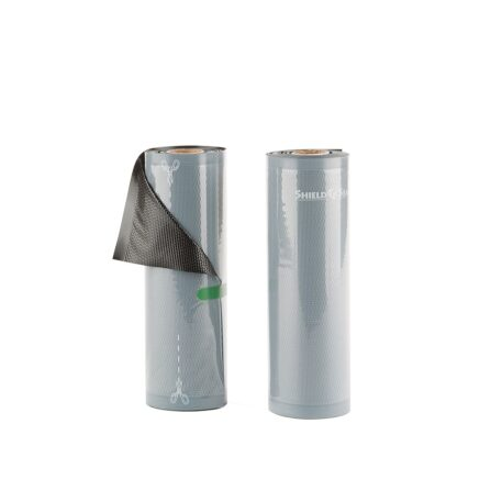 Shield N Seal 8″x19.5′ Black-Clear 5mil Vacuum Roll