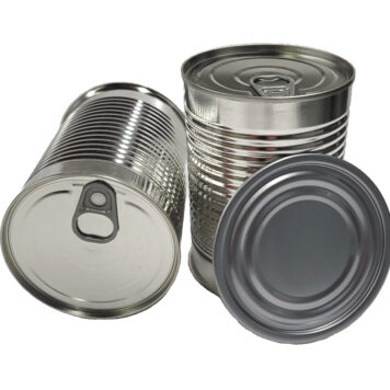 19oz 307x409 3pc Metal Can with bottom EZO end