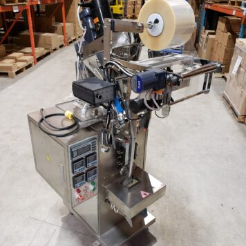 Automated Dry Goods Pouch Filling Machine
