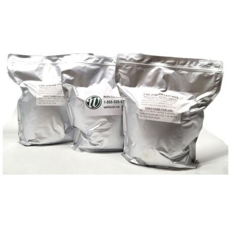 2kg 365 Day Worm Casting Mushroom Soil Bag